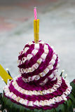 Loy Krathong , Thailand . Royalty Free Stock Photo