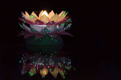 Loy Krathong tradition Stock Images