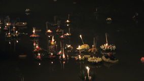 Loy Kratong stock footage