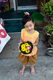 LOY KRATONG FESTIVAL Royalty Free Stock Image