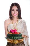 Loy Kratong Festival Stockbild