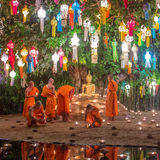 Loy Kratong Festival, Chiang Mai Royalty Free Stock Photo