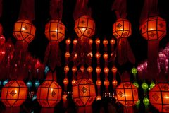 Loy Kratong Festival Stock Images