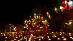 Loy Kratong Festival 2556 (2013) Tailandia Fotos de archivo