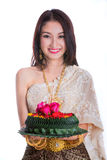 Loy Kratong Festival Stock Image