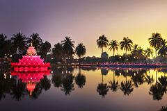 Loy Kratong Festival in Thailand royalty free stock photography