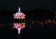Loy kratong festival thailand Royalty Free Stock Image