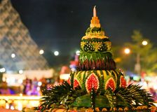 Loy Kratong Festival Thailand Stock Image