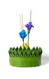 Loy kratong Festival Royalty Free Stock Photo