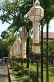 Loy Symbol Khom von Lanna Lizenzfreie Stockbilder