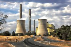 Loy Yang power station Stock Photos