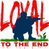 Loyal zum Spiel Lizenzfreie Stockfotos