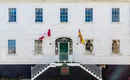 Σημαίες στο σπίτι Loyalist Στοκ Εικόνες
