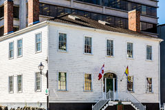 Loyalist House in Saint John Royalty Free Stock Images