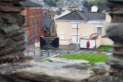 Loyalist mural in Derry Royalty Free Stock Image