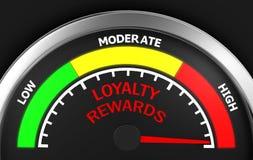 loyaliteitsbeloningen Stock Foto's