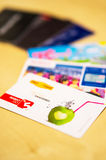 Loyalty cards Royalty Free Stock Image