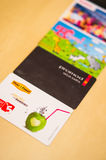 Loyalty cards Stock Images