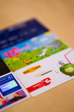 Loyalty cards Royalty Free Stock Photo