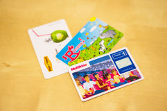 Loyalty cards Royalty Free Stock Images