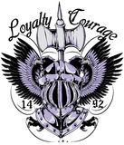 Loyalty and courage Royalty Free Stock Photos