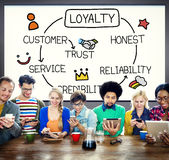 Loyalty Customer Service Trust Honest Reliability Concept Royalty Free Stock Photo