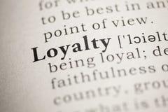 Loyalty Royalty Free Stock Photo