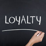 Loyalty Word Royalty Free Stock Photo