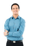 Loyalty Young Businessman Stock Photography