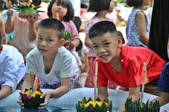 Loykathong feliz Fotos de Stock