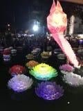 Loykathong feliz Imagens de Stock