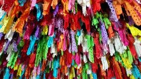 Loykrathong de las linternas fastival en Tailandia Imágenes de archivo libres de regalías