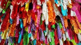 Loykrathong delle lanterne fastival in Tailandia Fotografia Stock Libera da Diritti