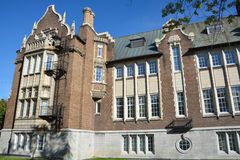 Loyola för Concordia universitet universitetsområde Fotografering för Bildbyråer