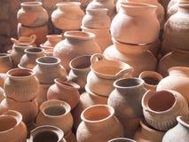 loza de barro, loza, cerámica, prehistórica Imágenes de archivo libres de regalías