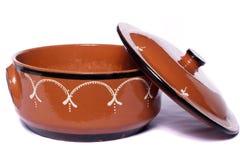 Loza de barro tradicional de la arcilla Fotografía de archivo libre de regalías