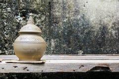 Loza de barro tradicional de Tailandia Foto de archivo