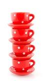Loza roja Imagen de archivo