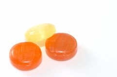 Lozenges three Stock Photos