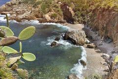 Lozingaro Natuurreservaat, Sicilië, Italië royalty-vrije stock afbeeldingen