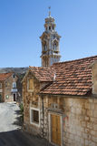 Lozisca, church tower Royalty Free Stock Images
