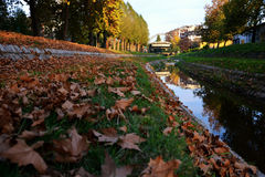 Loznica, Serbia. River Stira in Loznica, Serbia royalty free stock photography