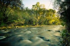 Lozoya river Stock Photo
