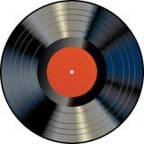 LP arancione scuro Immagine Stock Libera da Diritti