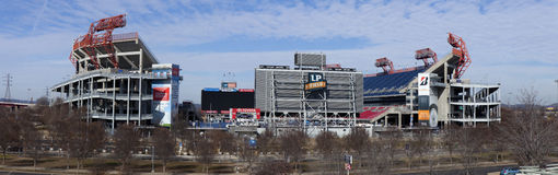 LP Field is a football stadium in Nashville Stock Photos