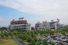 LP Field football stadium in Nashville Stock Images