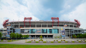 LP Field in Nashville, TN in the morning Royalty Free Stock Photo
