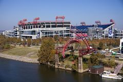 LP-Gebied binnen de stad in van Nashville Royalty-vrije Stock Afbeelding