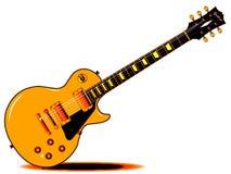 LP Guitar Illustration Royalty Free Stock Photography