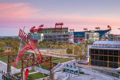LP pola stadium w Nashville Obrazy Stock